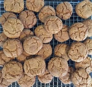 ginger crinkle cookies
