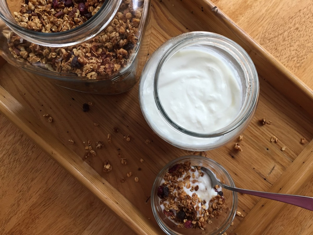 Hooked on Homemade Yogurt
