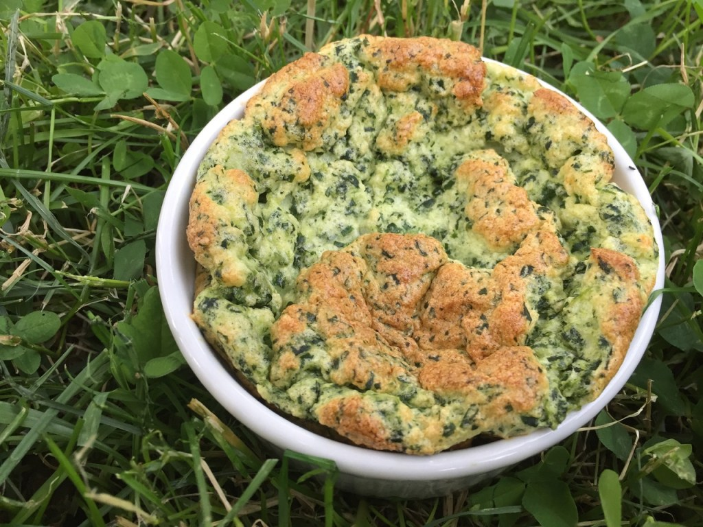 spinach swiss souffle