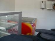 Glassboxen skvallrar om att här brukar serveras glass.