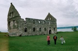 Castle on Visingsö in lake Vättern.