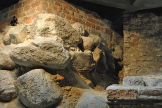 Bricks and stones