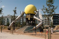 Playground, Varvsparken, Western Harbour, Malmö, Sweden