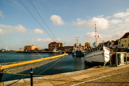 A short visit to Simrishamn - in the harbour.