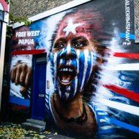 Mural at Camden Market in London