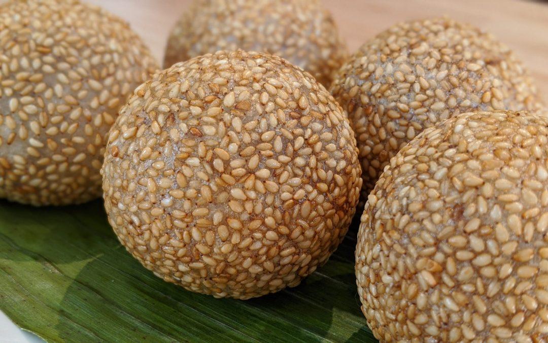 Boules de sésame (Banh Cam)