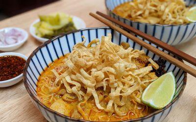 Soupe Khao Soi (Chiang Mai)