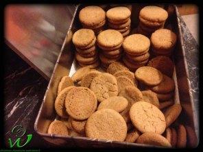 Nougat-Kekse