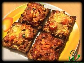 Toast-Pizza