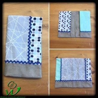 Muki Pass grau-türkis-blau