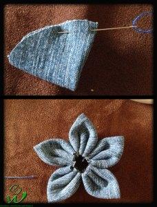 Blume-mit-spitzen-Blüten