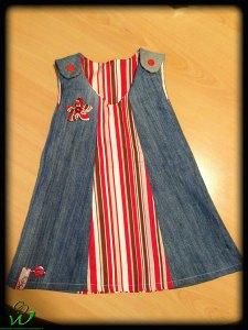 Kleidchen-jeans-rot