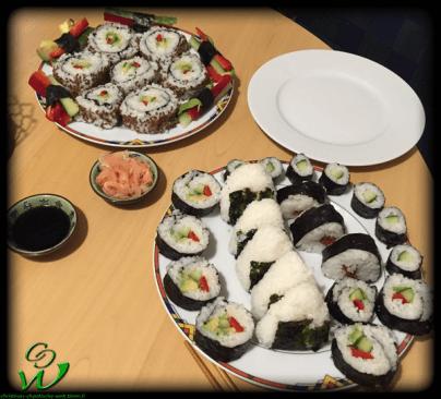 Ura, Futo & Hoso Maki und Onigiri