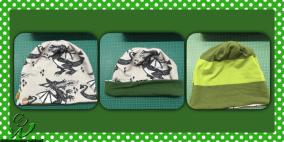 Dargon Stoff mit grünen Streifen Stoff