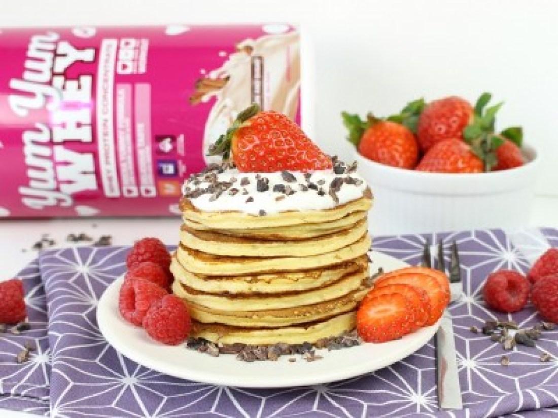 Protein, Pancakes, Yum Yum, Rezept, Rocka, Nutrition, Erdbeeren, Schokolade, Food, Whey, Protein, Pulver