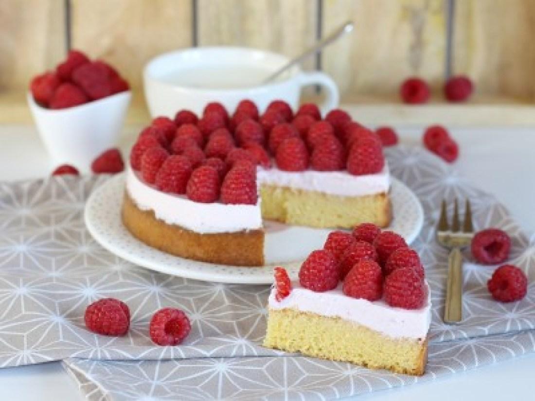 Himbeere-Vanille-Kuchen