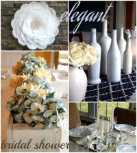 An Elegant {DIY} Bridal Shower - Christinas Adventures