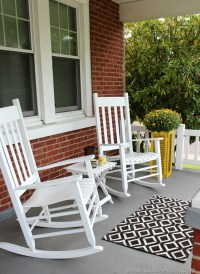 Simple Fall Front Porch - Christinas Adventures