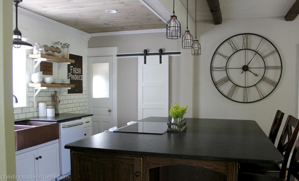 DIY Farmhouse Kitchen Makeover All the Details  Christinas Adventures