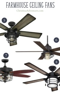 Where to buy farmhouse ceiling fans online - Christinas ...