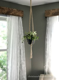 How To Hang Window Valance With Curtains | Curtain ...