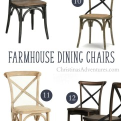 Farmhouse Dining Chairs Childs Wooden Table And Where To Buy X Back Christinas Adventures Best Secret Online Sources