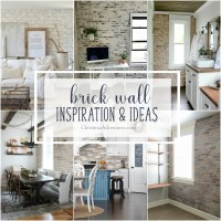 Interior brick wall inspiration & ideas - Christinas ...