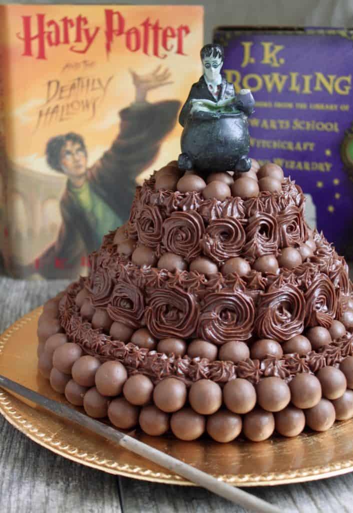 Versatile Maltesers Chocolate Cake Harry Potter Theme