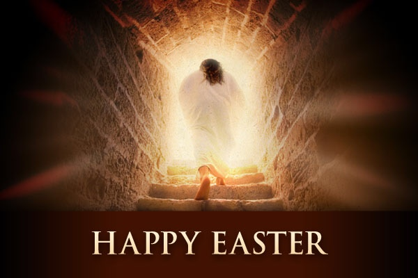 Happy Easter! Our Lord IS Risen! Alleluia! Alleluia!