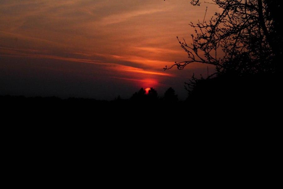 Wochenende in Loipersdorf Sonnenuntergang