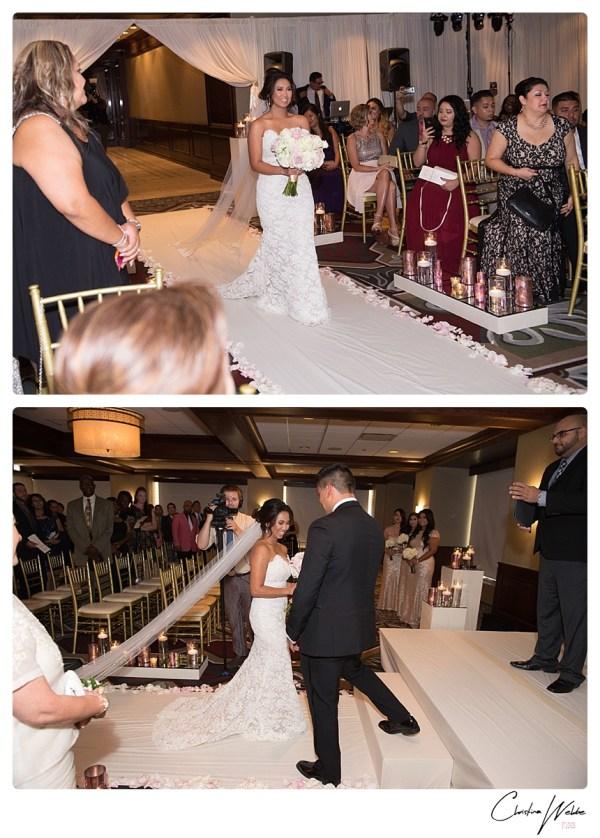 Cathy John Metropolitan Club Wedding