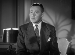 Herbert Marshall is surprised