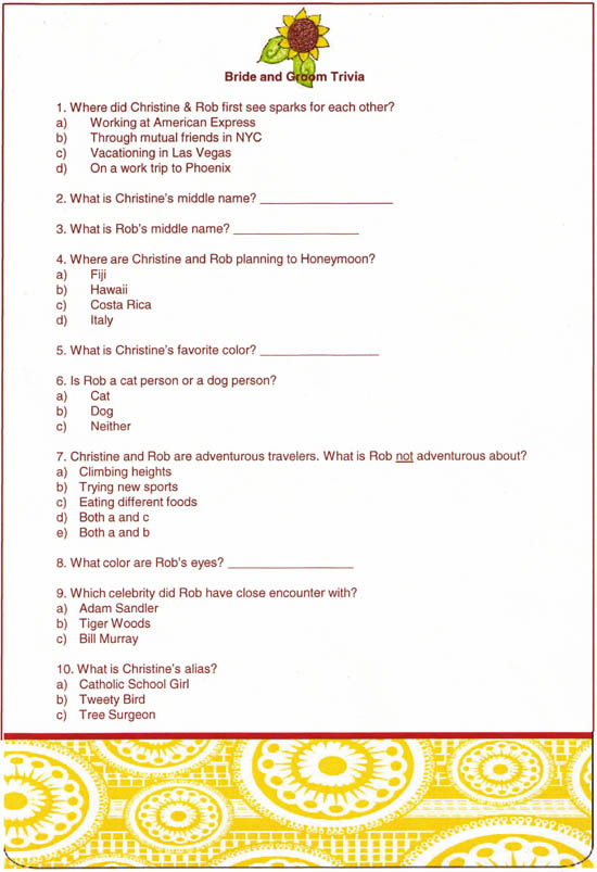 Image Result For Wedding Invitation Questionnaire