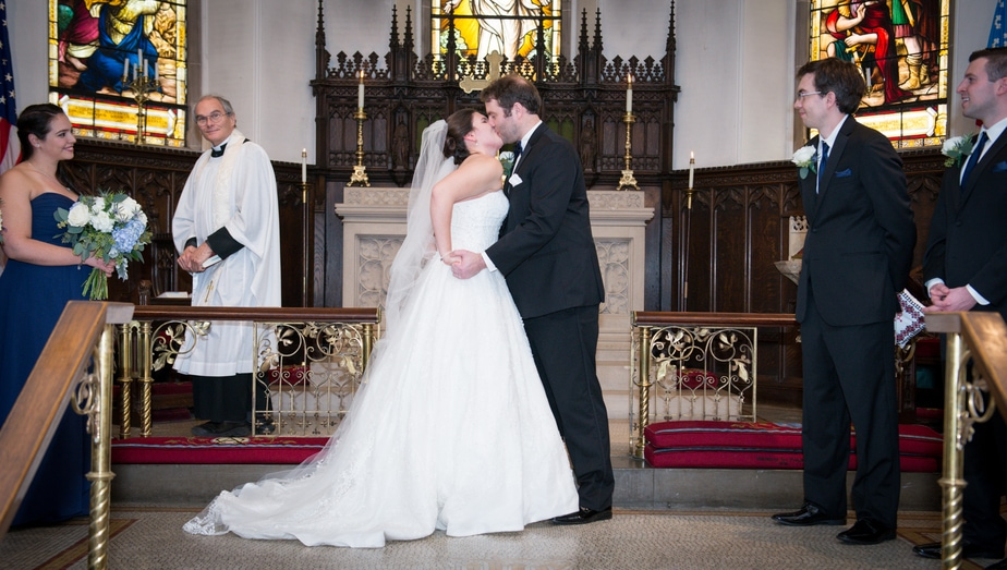 St. Philips Church Wedding in Garrison, NY