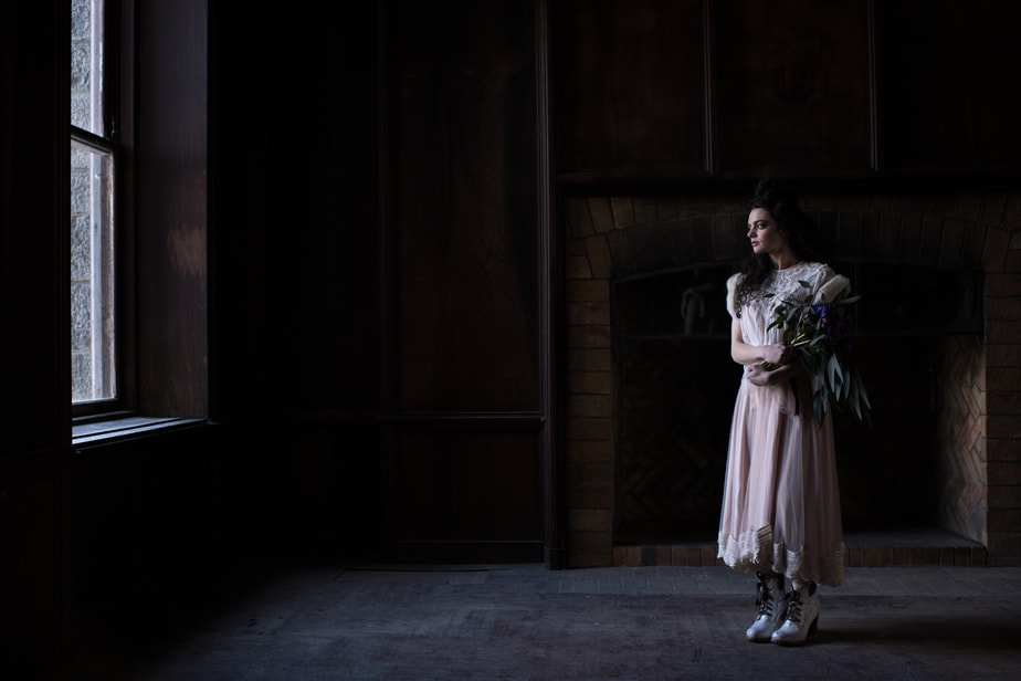 Hudson Valley dark and moody wedding photographer
