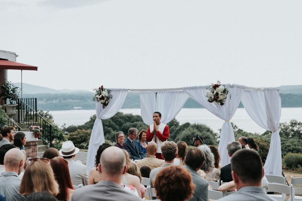 Beacon New York Indian wedding ceremony at Dutchess Manor