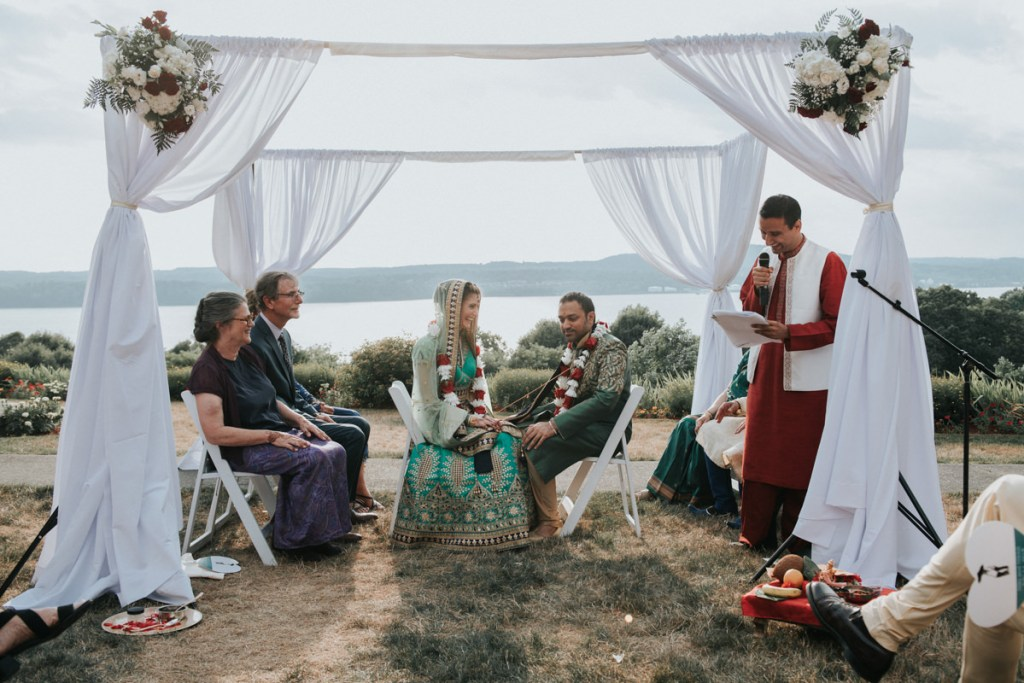 Hudson Valley Indian wedding ceremony photo