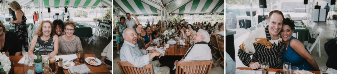 Guest enjoying themselves at a Fishkill Golf Course wedding