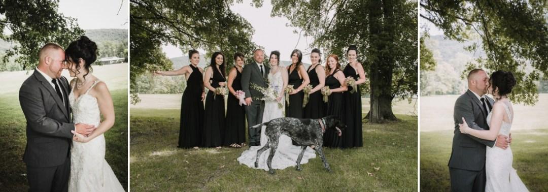Wedding formal photos at a Fishkill Golf Course wedding