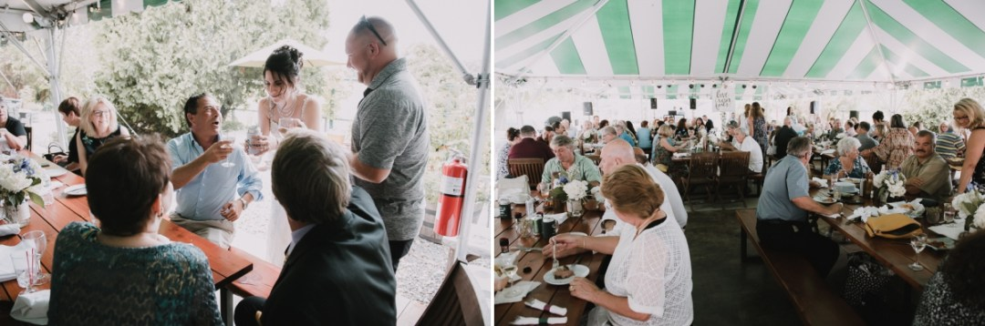 Reception photos from a Fishkill Golf Course wedding