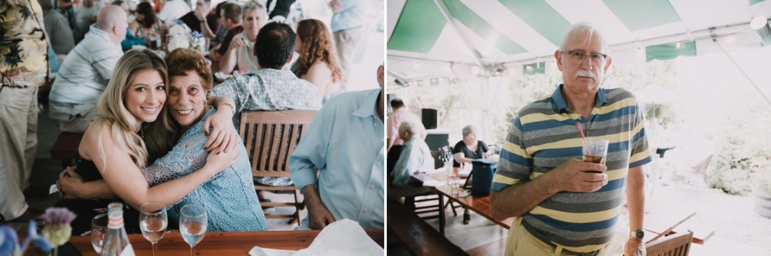 Upstate wedding reception photos