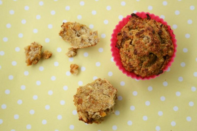 Abrikosmuffins sukkerfri glutenfri tørrede abrikoser christinebonde blog
