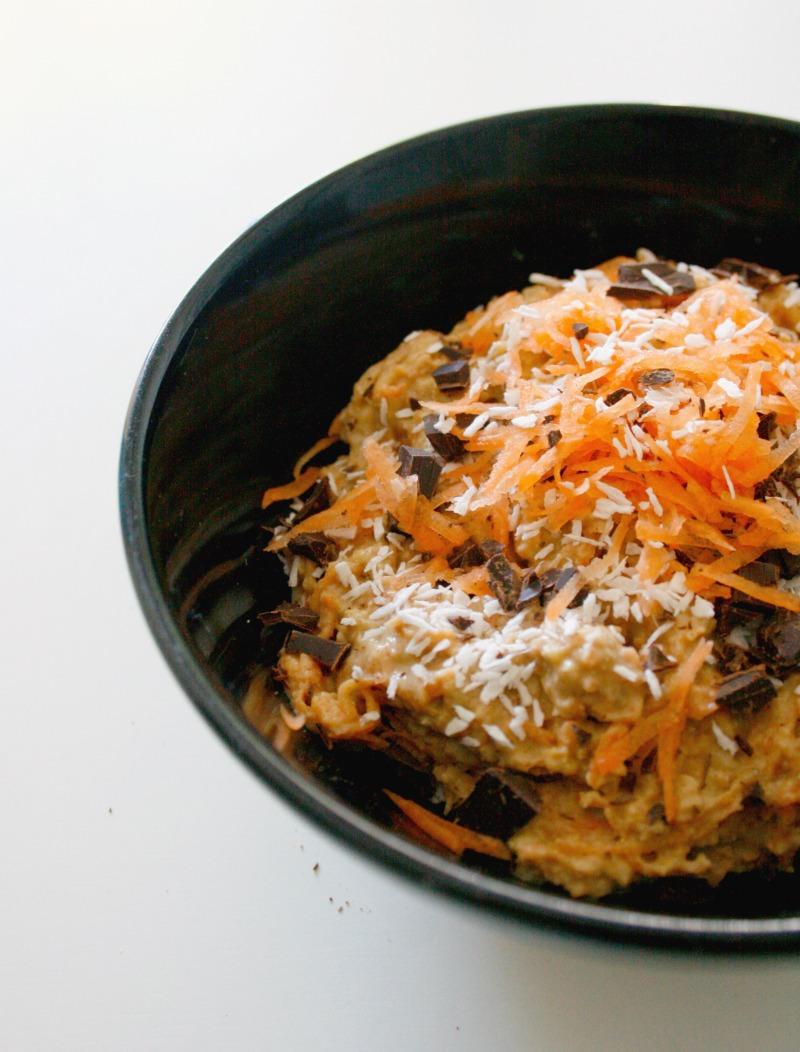 Gulerodskagegrød // carrot cake porridge