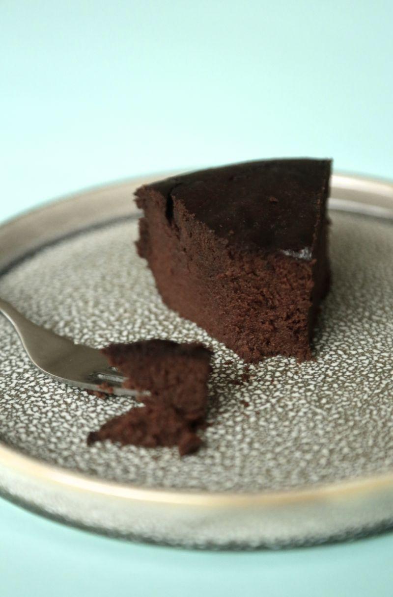 Sund chokoladekage med 5 ingredienser (glutenfri, sukkerfri, laktosefri)3