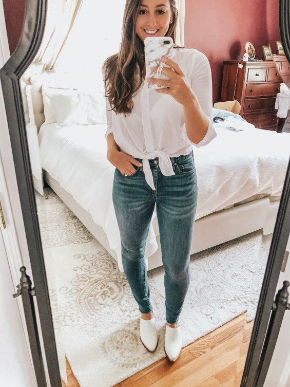 Nordstrom's Trunk Club service is like having a personal stylist! Here's my trunk club try-on where I  link to all the pieces in my recent trunk.
