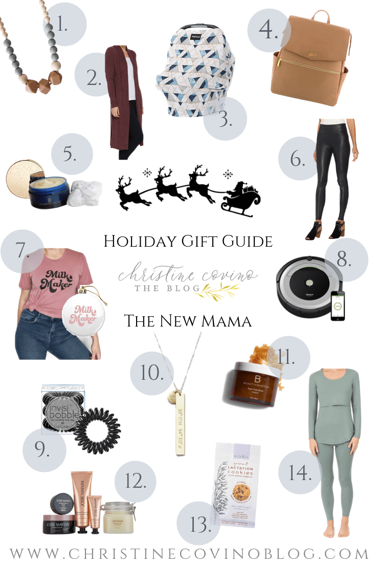 The New Mama HolidayShopping for a new mom is always fun! Here are great holiday gifts for the new mom in your life that she is sure to love this year! Gift Guide