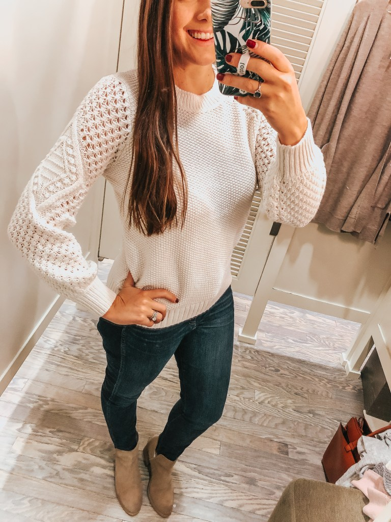 It's the perfect time to bundle up in cozy sweaters & the Loft has some great ones this year! Come check out my Loft Try-on and see what is new this season.