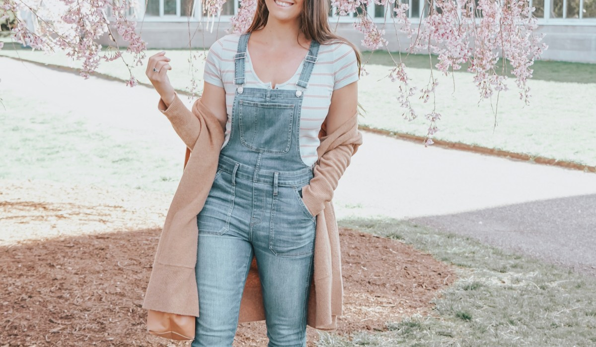 Are you loving overalls right now, but don't know how to style them? Well, we have 7 great ways to style overalls so you can wear them all season long!