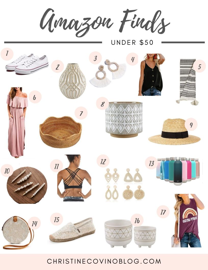 Amazon is the place for style these days! I love how quick and convenient it is and cute! Check out these June Amazon Style FInds!