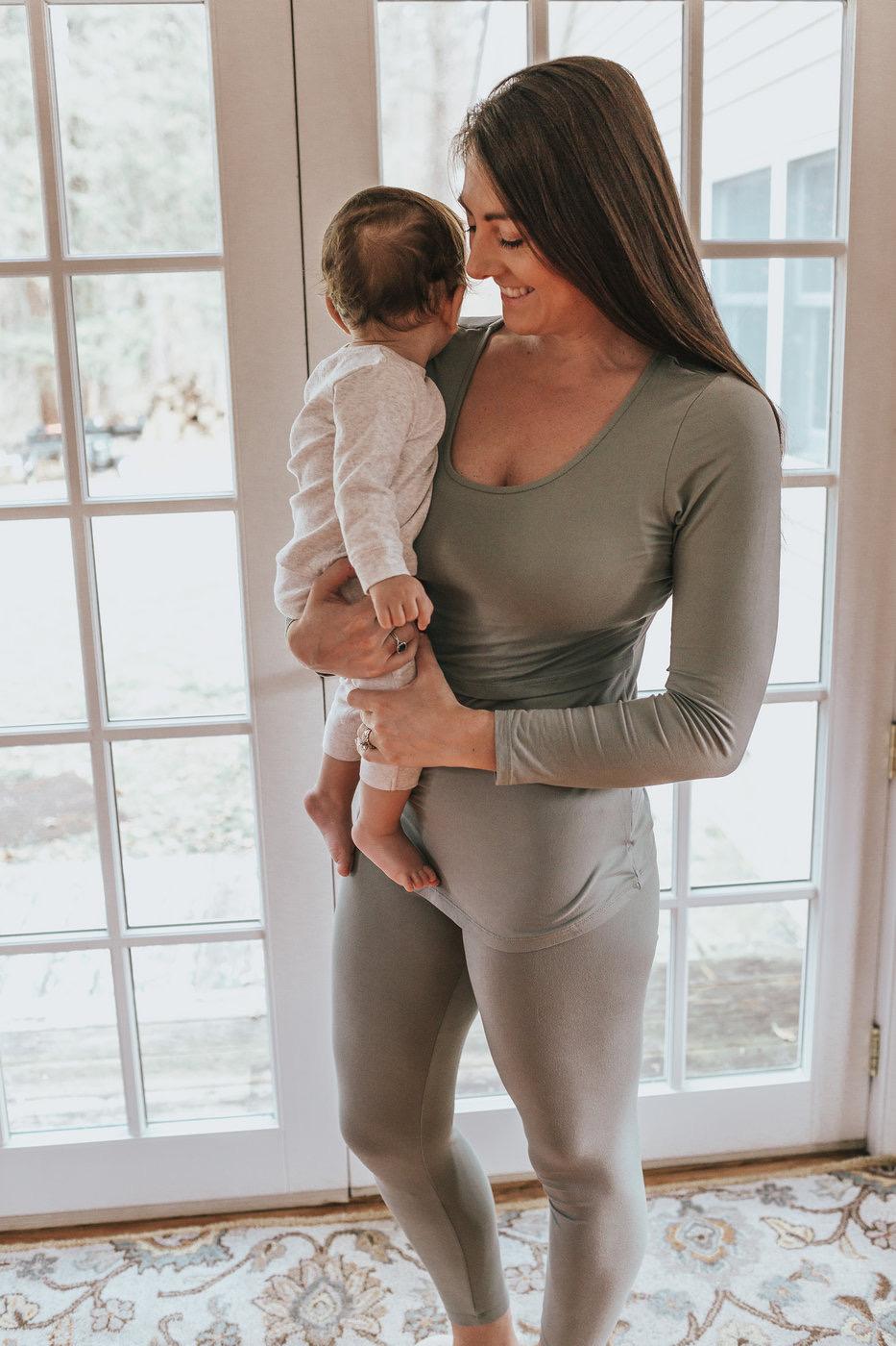 nursing PJs - New Mom Holiday Gift Guide